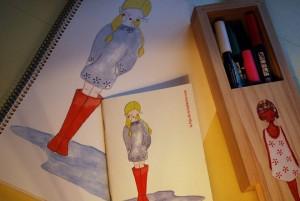 cuaderno-botas-rojas