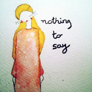 nothing-to-say